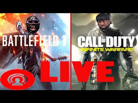 KALI MUSCLE:  Call oF Duty + Battlefield 1(LIVE) {PS4}